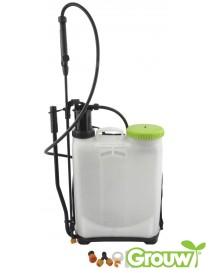 Trykksprøyte 16 liter ryggsprøyte - korrosjonsbestandig