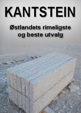 Vi har Østlandets rimeligst og beste utvalg kantstein i granitt